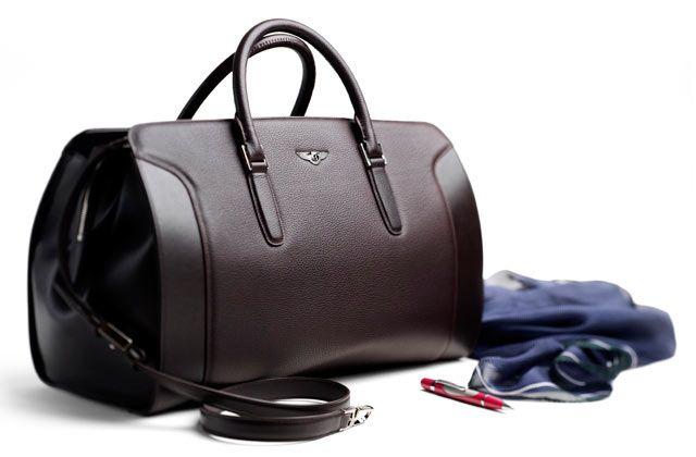 Nueva línea de maletas y accesorios de lujo de Bentley
