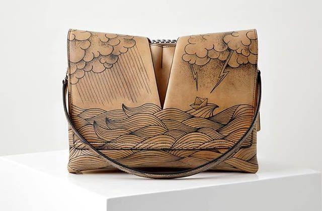 Sofisticación en bolsos de la nueva colección de Jil Sander