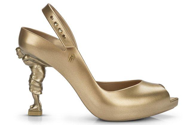 Zapatos esculturales de Melissa y Sebastián Errazuriz