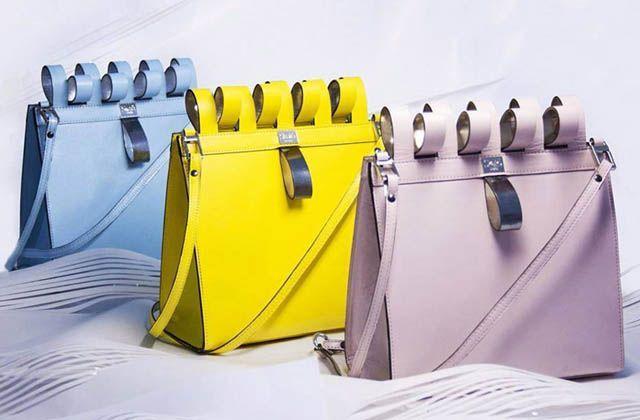 Atractivos diseños de la colección de bolsos Wave Bag