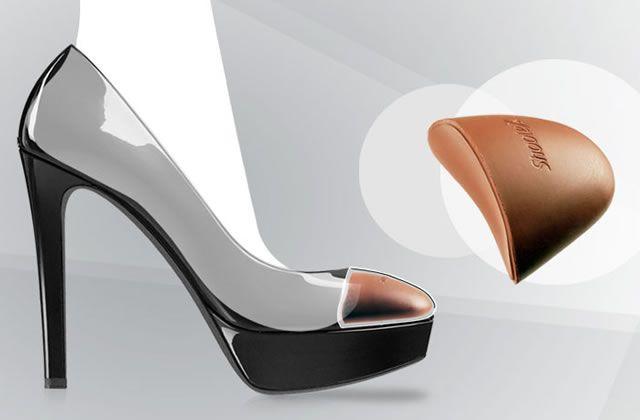 Accesorio para ajustar el pie en los zapatos