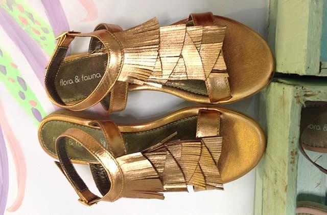 Moda y creatividad en zapatos planos