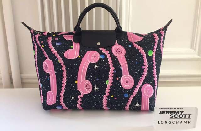 Nuevo bolso de Longchamp y Jeremy Scott