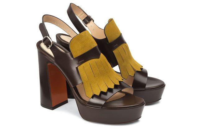 El glamour de los 70's en los zapatos de Santoni