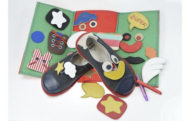 Nueva línea de zapatos personalizables de Ciao Mao