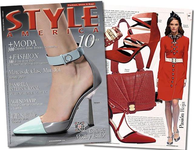 Revista Style America 21 moda