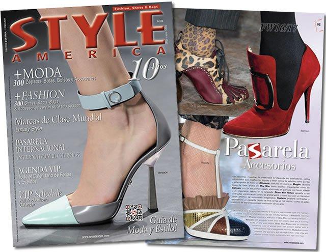 Revista Style America 21 pasarela
