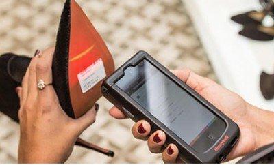 Tecnología para pago móvil en tiendas de Zapato