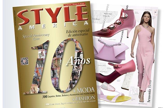 Revista Style America 10aniversario ed20