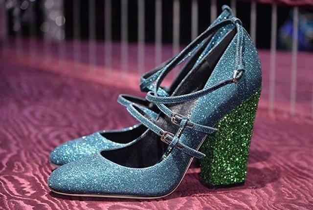 Glamour Retro en los zapatos de Sergio Rossi
