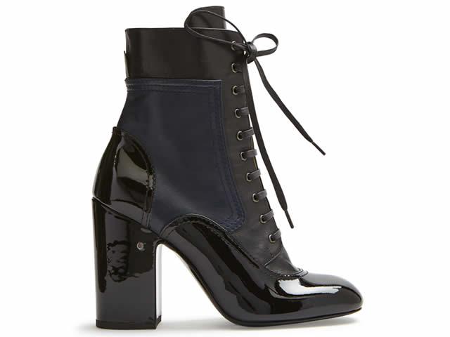 bota  negra Laurance Dacade