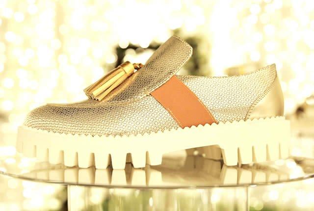 Zapatos Alberto Guardiani inspirados en el país de las maravillas