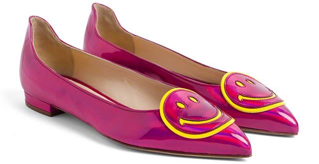 flats camilla elphic x smiley