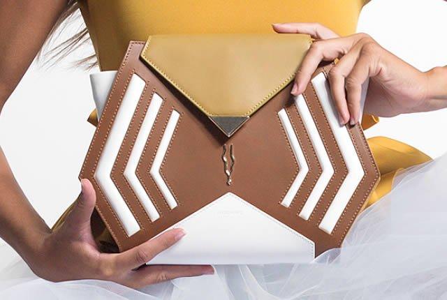 Estilo femenino y futurista en bolsos de Marcwave