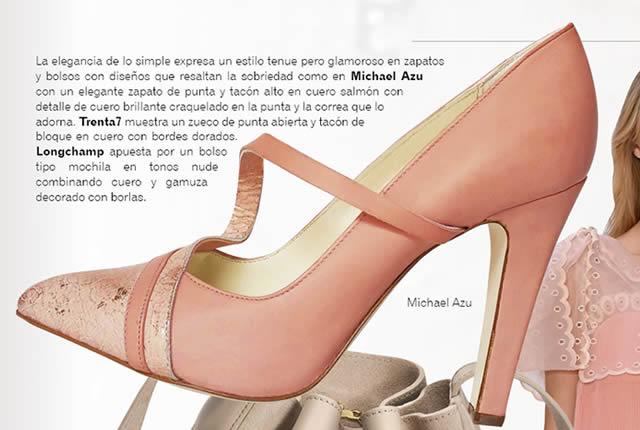 zapato tendencia esencia tenue_