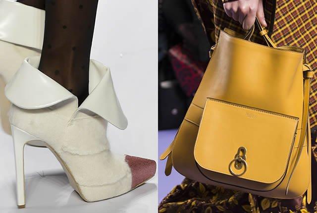 Tendencias de Pasarela Internacional en Zapatos y Bolsos