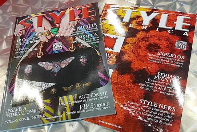 Ediciones revista STYLE AMERICA moda y tendencias presentadas en IFLS+EICI