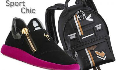 Tendencia de moda Sport Chic