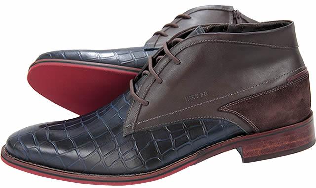 Diseño contemporáneo en zapatos masculinos Ferracini