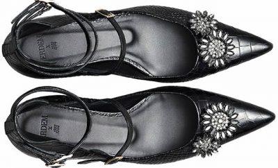 Colección Erdem X H&M incluye zapatos y Bolsos