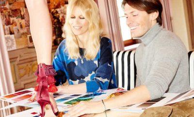 Lanzan colección de Zapatos Claudia Schiffer x Aquazzura