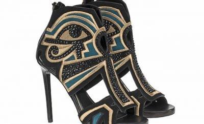 Zapatos By Fenu inspirados en el antiguo Egipto
