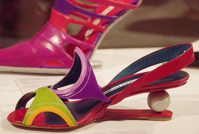 Exposición Manolo Blahnik: el arte del zapato