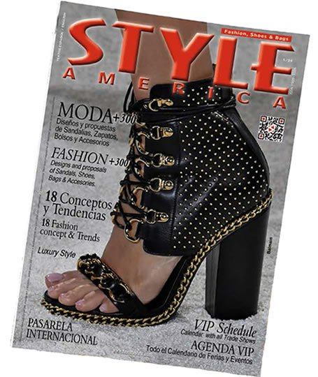 Edición 24 revista STYLE AMERICA Fashion, Shoes & Bags