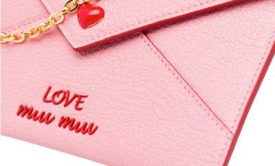 Bolsos y accesorios de Miu Miu para San Valentín