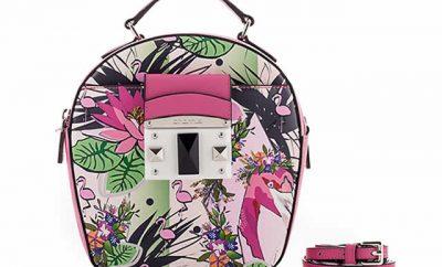 Flores y sofisticación en bolsos de Cromia