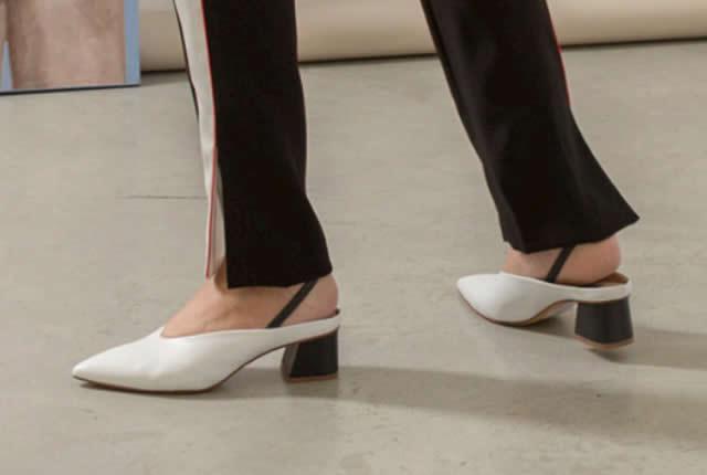 Estilo femenino y elegante en zapatos de Fabio Rusconi