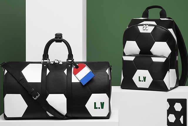Colección personalizable de Louis Vuitton para Copa Mundial de la FIFA