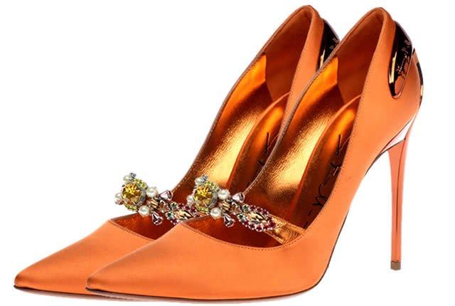 Sinfonía mediterránea en zapatos de Baldinini