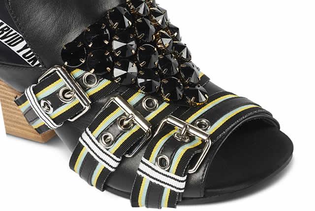 Estilo audaz y múltiples inspiraciones en zapatos de Arvid Yuki