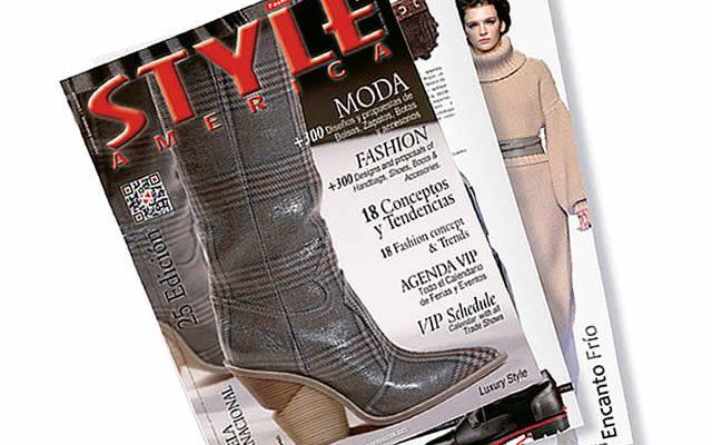 Lanzamiento edición 25 revista STYLE AMERICA Fashion, Shoes & Bags