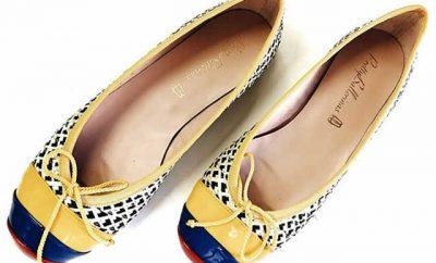 Zapatos celebran la independencia de Colombia