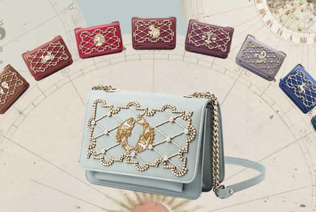 Colección Cosmos, bolsos inspirados en signos del zodiaco