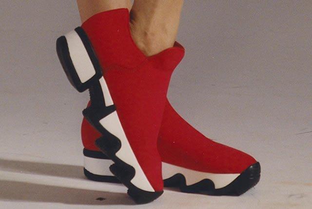 Estilo atrevido en los zapatos de iRi