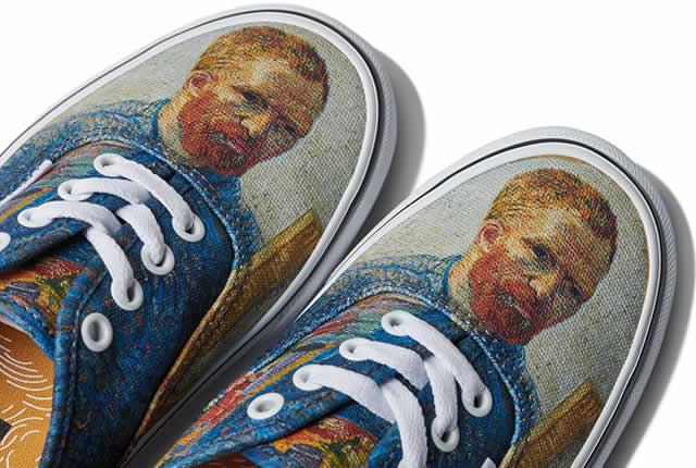 Arte y estilo en los tenis Vans x Van Gogh