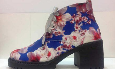 Colección de zapatos inspirada en flores de cerezo