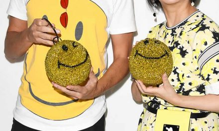 Bolso Smiley por 25 aniversario de la marca Anteprima