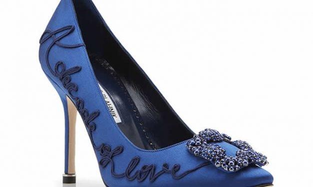 Colección 10 años zapato Hangisi de Manolo Blahnik