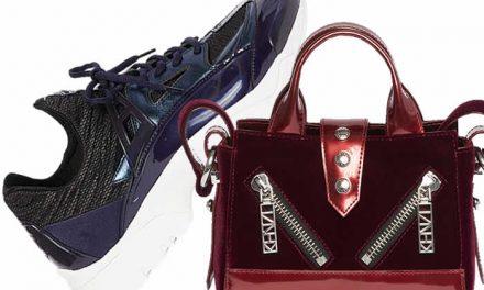 Kenzo lanza colección de navidad con zapatos y bolsos