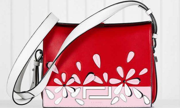Bolsos de Lancel se llenan de color y flores